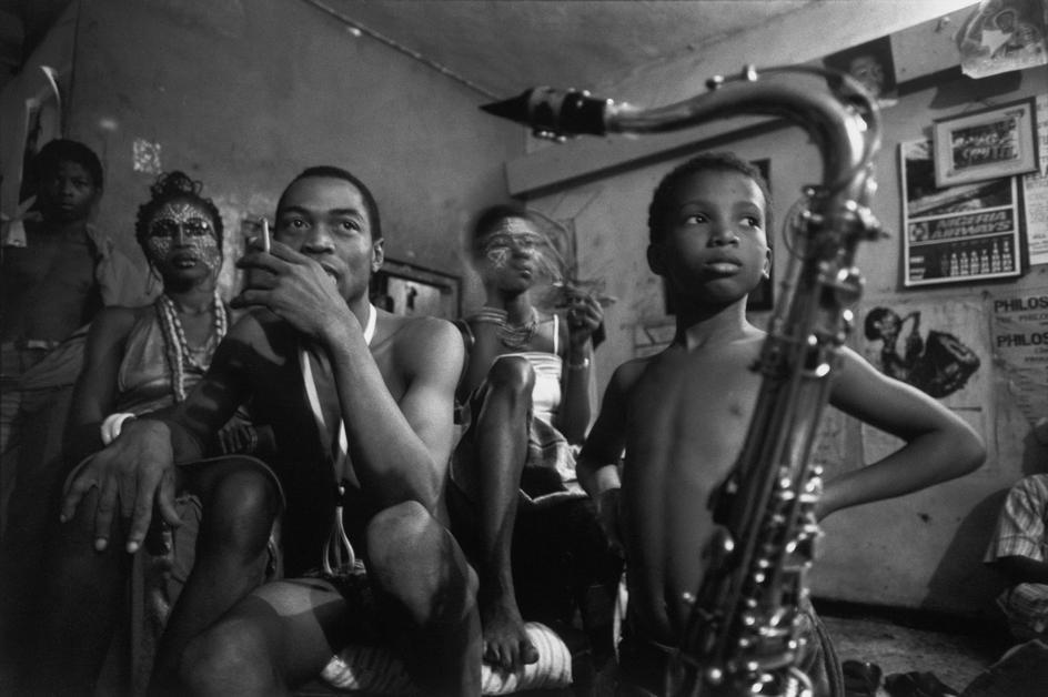 Fela Kuti abandoned material good.