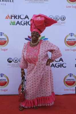That time her gele had its own gele.
