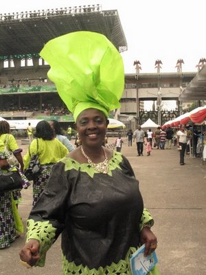 This strong, independent gele that doesn't need any man.